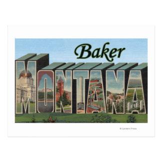 Baker, MontanaLarge Letter ScenesBaker, MT Postcard
