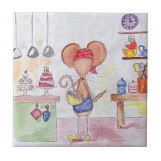 Baker Mouse Tile