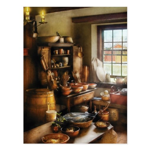 Baker - Nothing like home cooking Postcard