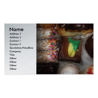 Baker - Oh Boy! Double-Sided Standard Business Cards (Pack Of 100)