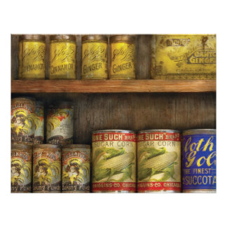 Baker - Old Cans Custom Flyer