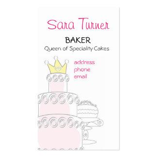 Baker or Cake Maker  Business Card