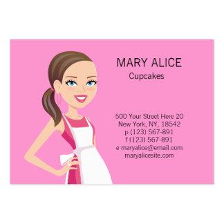 Baker or Culinary Teacher Business Card