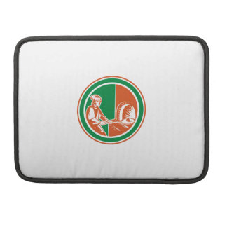 Baker Peel Bread Pan Circle Retro MacBook Pro Sleeves