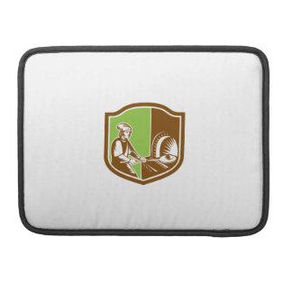 Baker Peel Bread Pan Shield Retro Sleeve For MacBook Pro
