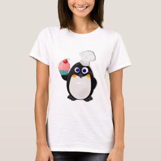 Baker Penguin with Cupcake II T-Shirt