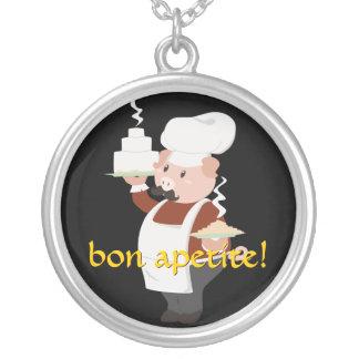 Baker Piggy Necklace