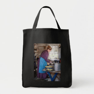 Baker - Preparing Dinner Tote Bag