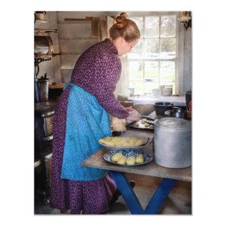 Baker - Preparing Dinner Card