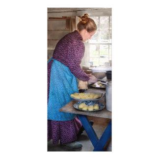 Baker - Preparing Dinner Customized Rack Card