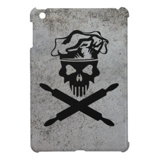 Baker Skull and Crossed Rolling Pins iPad Mini Cases