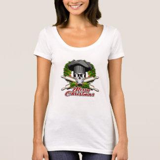 Baker Skull: Merry Christmas V2 T-Shirt