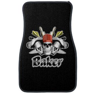 Baker Skull: Tools of the Trade Car Mat