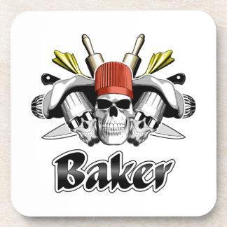 Baker Skull: Tools of the Trade Coaster