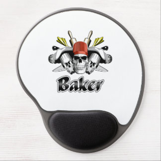Baker Skull: Tools of the Trade Gel Mouse Pad