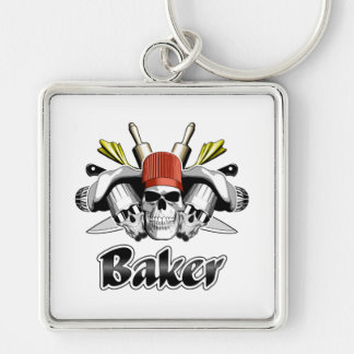 Baker Skull: Tools of the Trade Keychain
