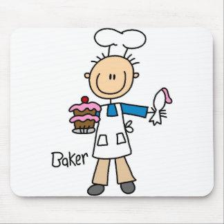 Baker Stick Figure Mousepad
