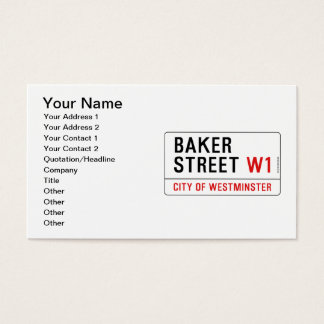 Baker Street Business Card