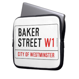 Baker Street Computer Sleeve