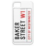 Baker Street iPhone 5 Cover