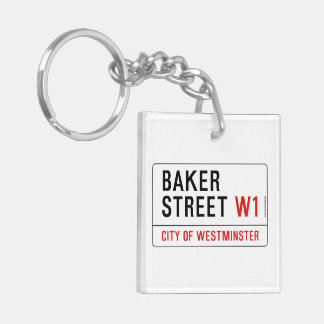 Baker Street Keychain