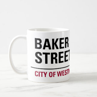 Baker Street Sign Coffee Mug
