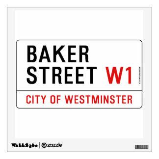 Baker Street Wall Sticker