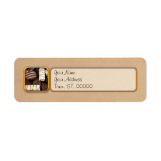 Baker - Who wants cookies Return Address Label