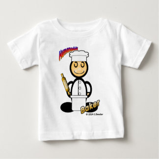 Baker (with logos) baby T-Shirt