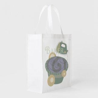 Baker Reusable Grocery Bags
