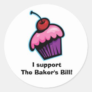 Baker's Bill Sticker