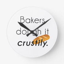 Bakers Do it! Round Clock