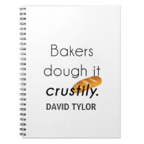 Bakers Do it! Spiral Notebook