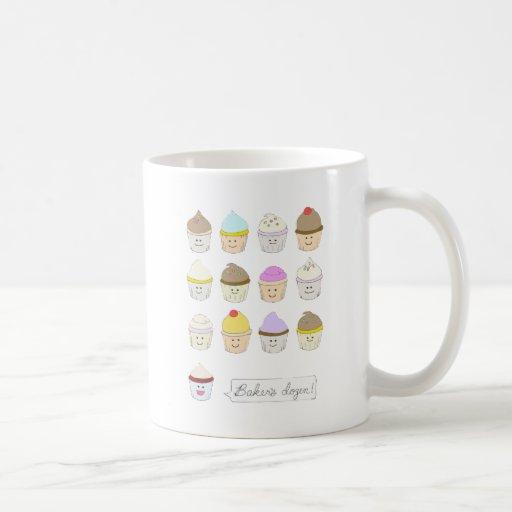 Baker's Dozen Classic White Coffee Mug