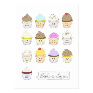 Baker's Dozen Postcard