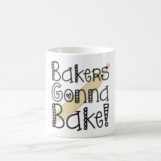 Bakers Gonna Bake Coffee Cup Classic White Coffee Mug