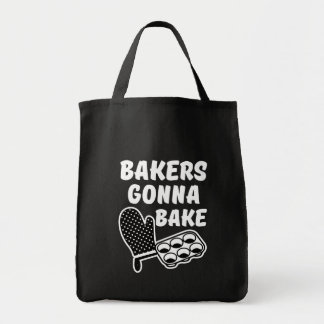 Bakers Gonna Bake funny bag