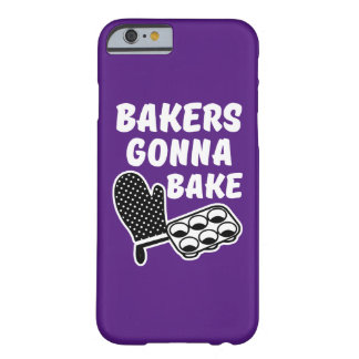 Bakers Gonna Bake funny women's phone case