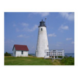 Bakers Island Light Postcard