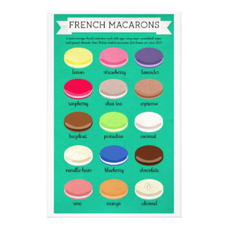 Baker's Joy Collection: French Macarons Stationery