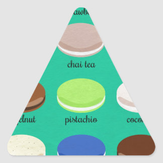 Baker's Joy Collection: French Macarons Triangle Sticker