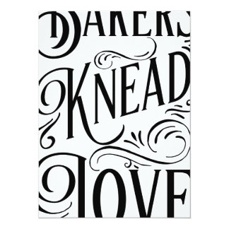 Bakers Knead Love - Cards for Chefs