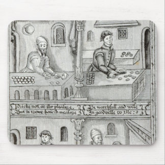 Bakers of York A.D, 1595-96 Mouse Pad