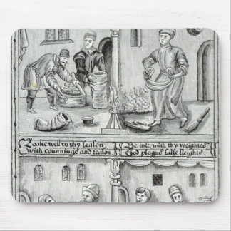 Bakers of York, A.D, 1595-96 Mouse Pad