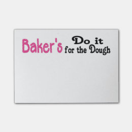 Bakers Post its Post-it Notes