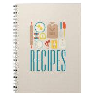 Baker's Recipes Notebook