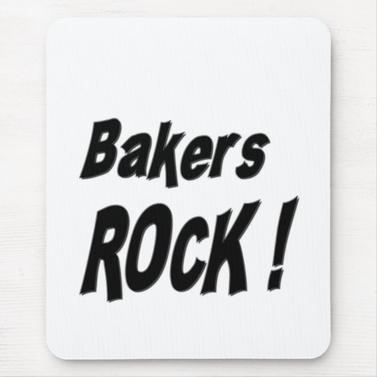 Bakers Rock! Mousepad