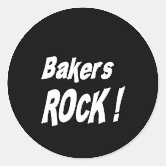 Bakers Rock! Sticker