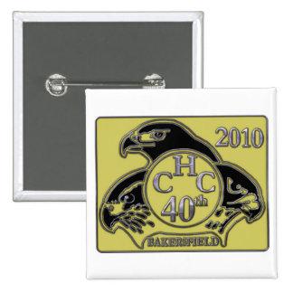 Bakersfield 2010 pin cuadrado