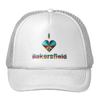Bakersfield -- Blue Green & Burgundy Mesh Hat